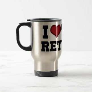 I Heart Tax Returns Travel Mug