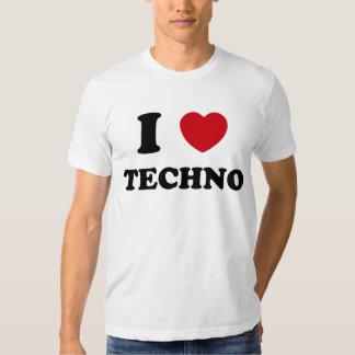 I Heart Techno Shirts