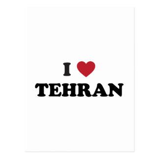 I Heart Tehran Iran Postcard