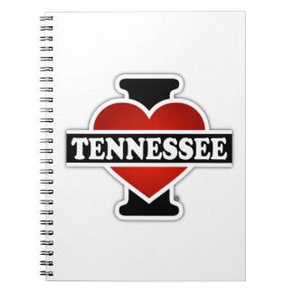 I Heart Tennessee Notebooks