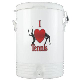 I Heart Tennis Cooler