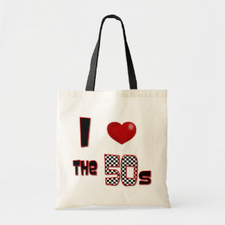 I Heart The 50s Tote Bag
