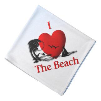 I Heart The Beach Bandana