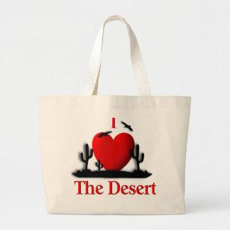 I Heart The Desert Jumbo Tote Bag