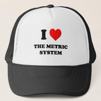 I Heart The Metric System Trucker Hat