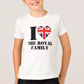 I Heart the Royal Family Kids T-shirt
