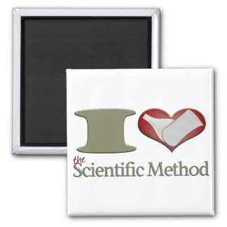 I Heart the Scientific Method Refrigerator Magnets