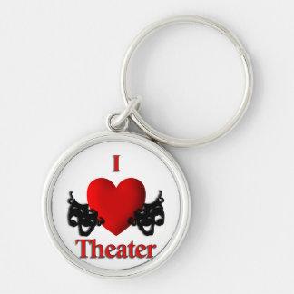 I Heart Theater Key Ring