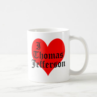 I Heart Thomas Jefferson Coffee Mug