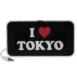 I Heart Tokyo Japan iPod Speakers