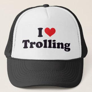 I Heart Trolling Trucker Hat