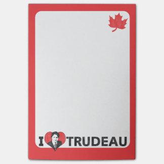 I Heart Trudeau Post-it® Notes