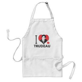 I Heart Trudeau Standard Apron