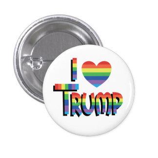 I HEART TRUMP 2016 Rainbow Election Gear 3 Cm Round Badge