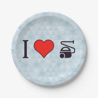 I Heart Using A Vacuum Tools Paper Plate