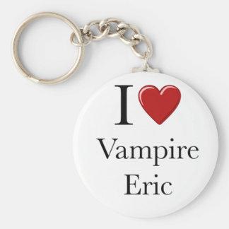 I heart Vampire Eric Key Ring