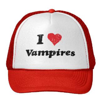 I Heart Vampires Cap