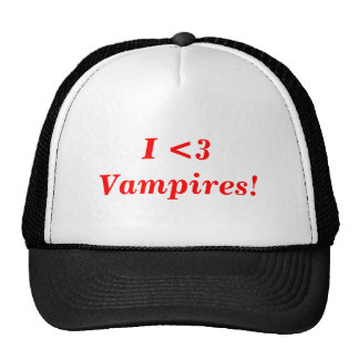 I heart Vampires! Cap