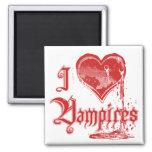 I Heart Vampires Magnets