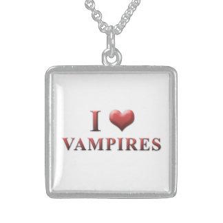 I Heart Vampires Necklace 0001