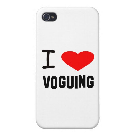 I Heart voguing Cases For iPhone 4