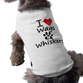 I Heart Wags N Whiskers Pet Tee