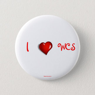 I Heart WCS 6 Cm Round Badge