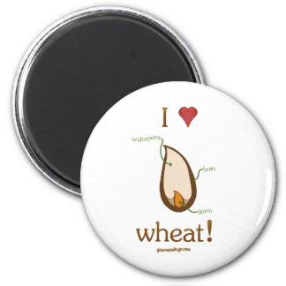 I Heart Wheat! Fridge Magnets