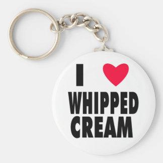 i heart WHIPPED CREAM Key Ring