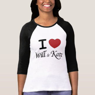 I Heart Will and Kate T-Shirt