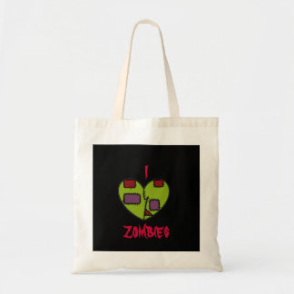 I Heart Zombies Canvas Bags