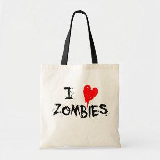 I Heart Zombies - Tote Bag
