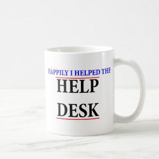 I helped the help desk coffee mug