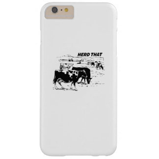 I Herd That  for Cow Lover farm animal Barely There iPhone 6 Plus Case