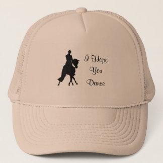 I Hope You Dance Dressage Horse Hat