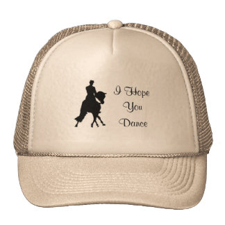 I Hope You Dance Dressage Horse Hat