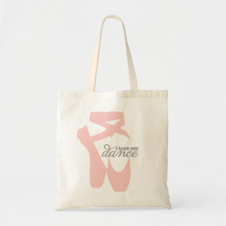 i hope you dance tote bag