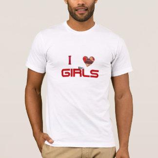I hrt big girls (booty) T-Shirt