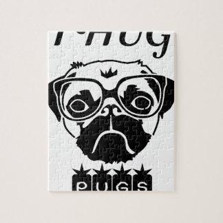 i hug pugs jigsaw puzzle