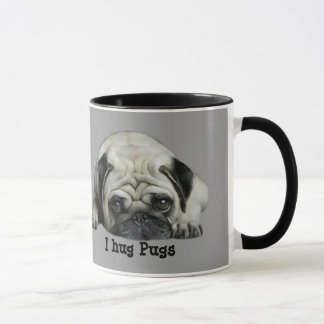 I hug Pugs Mug