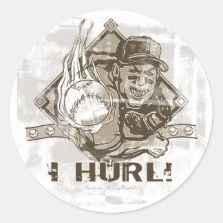 I Hurl Sticker