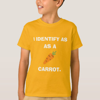 I Identify as a Carrot T-Shirt