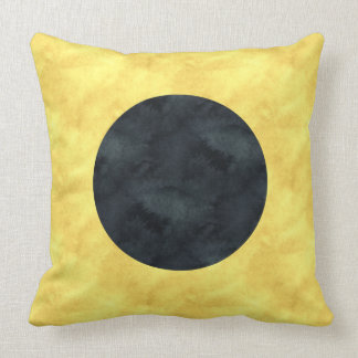 I India Watercolor Nautical Signal Maritime Flag Cushion