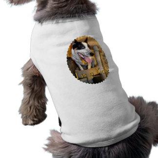 I Is A Katz Sleeveless Dog Shirt