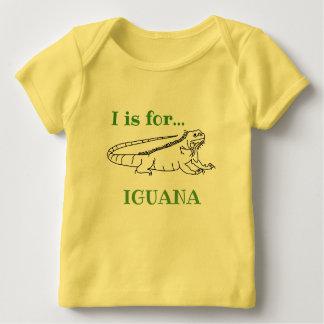 I is for Iguana Baby T-Shirt