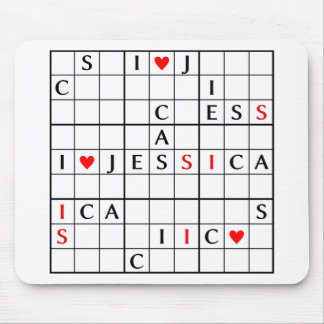 I♥JESSICA MOUSE PAD