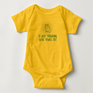 I Just Freaking Love Owls, OK! For Babies Baby Bodysuit