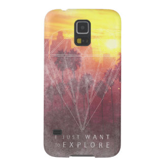 I Just Want ton of Explore Galaxy S5 Case