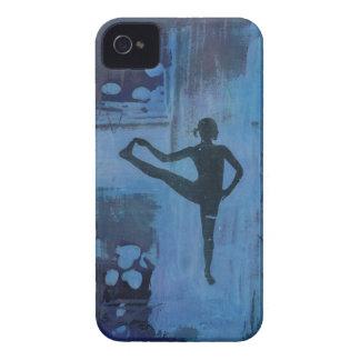 I Keep My Balance Yoga Girl iPhone 4 Case-Mate Case