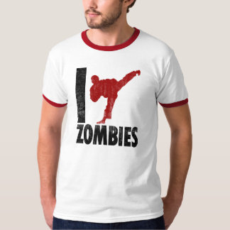 I Kick Zombies T-Shirt